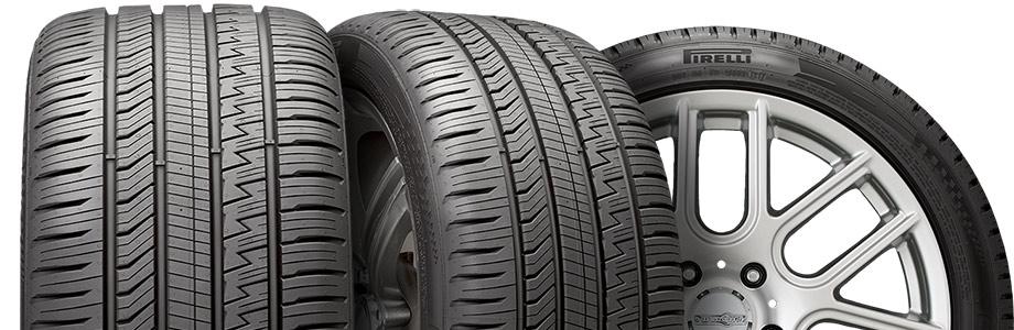 three tire view of pirelli cinturado strada sport as