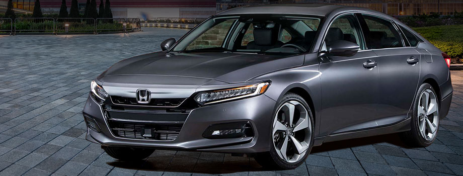 Gray Honda accord