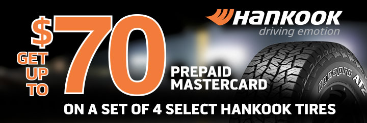 Hankook Tire Rebate