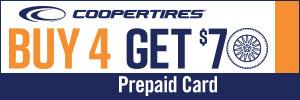 $70 Cooper Tire Rebate