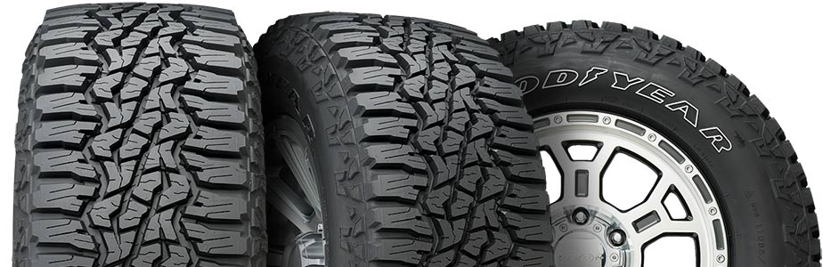 Wrangler Ultraterrain AT tires