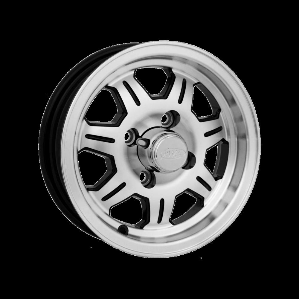 Image of Allied Wheel Components 870 Trailer 12 X4 5-114.30 0 BKMMXX