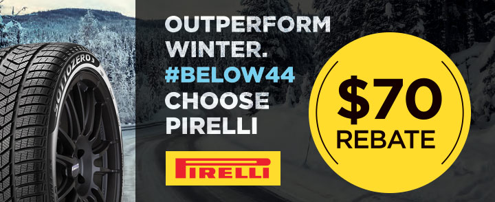 Pirelli Winter Tires Rebate