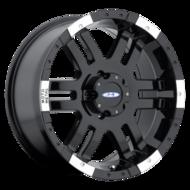 Image of Moto Metal MO951 17 X9 5-127.00 -12 BKGLML