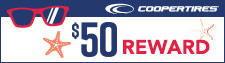 $50 Cooper Tire Rebate