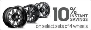 10% Instant Wheel Savings