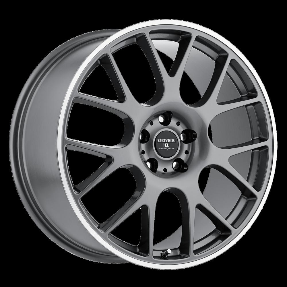 Level 8 Redline Wheels | Multi-Spoke Painted Passenger Wheels | Discount Tire Direct