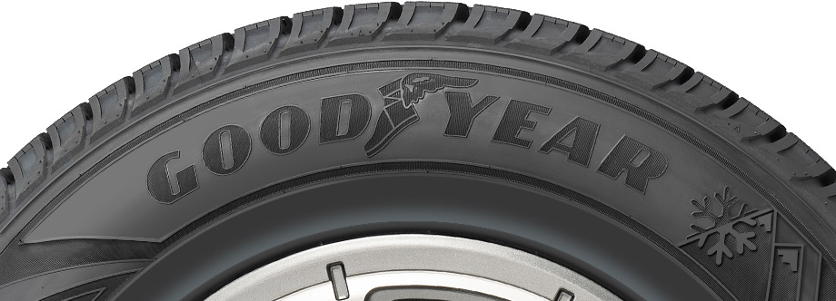 sidewall view of goodyear wintercommand