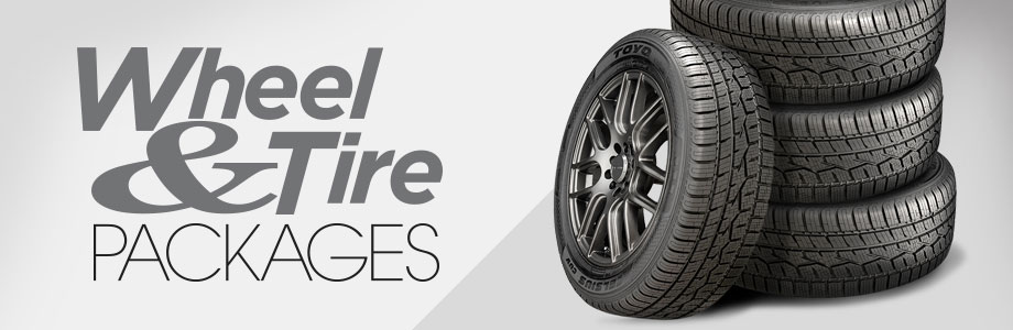 Hero wheel and tire packages