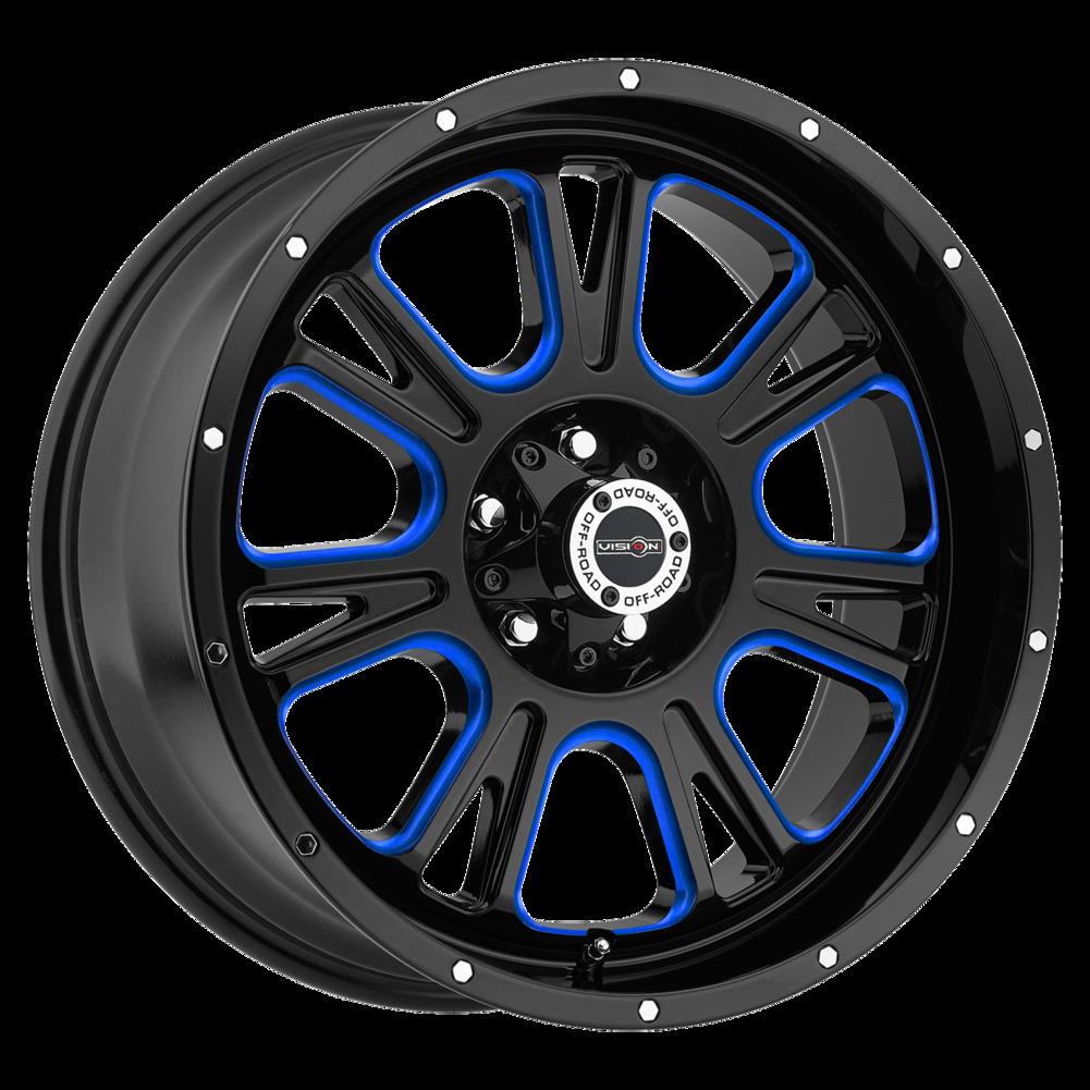 Goodyear Ball Tire >> Vision Fury Wheels | Split-Spoke Multi-Spoke Truck Machined Wheels | Discount Tire