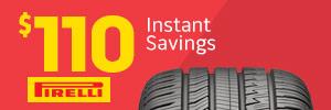 Pirelli Strada Instant Savings