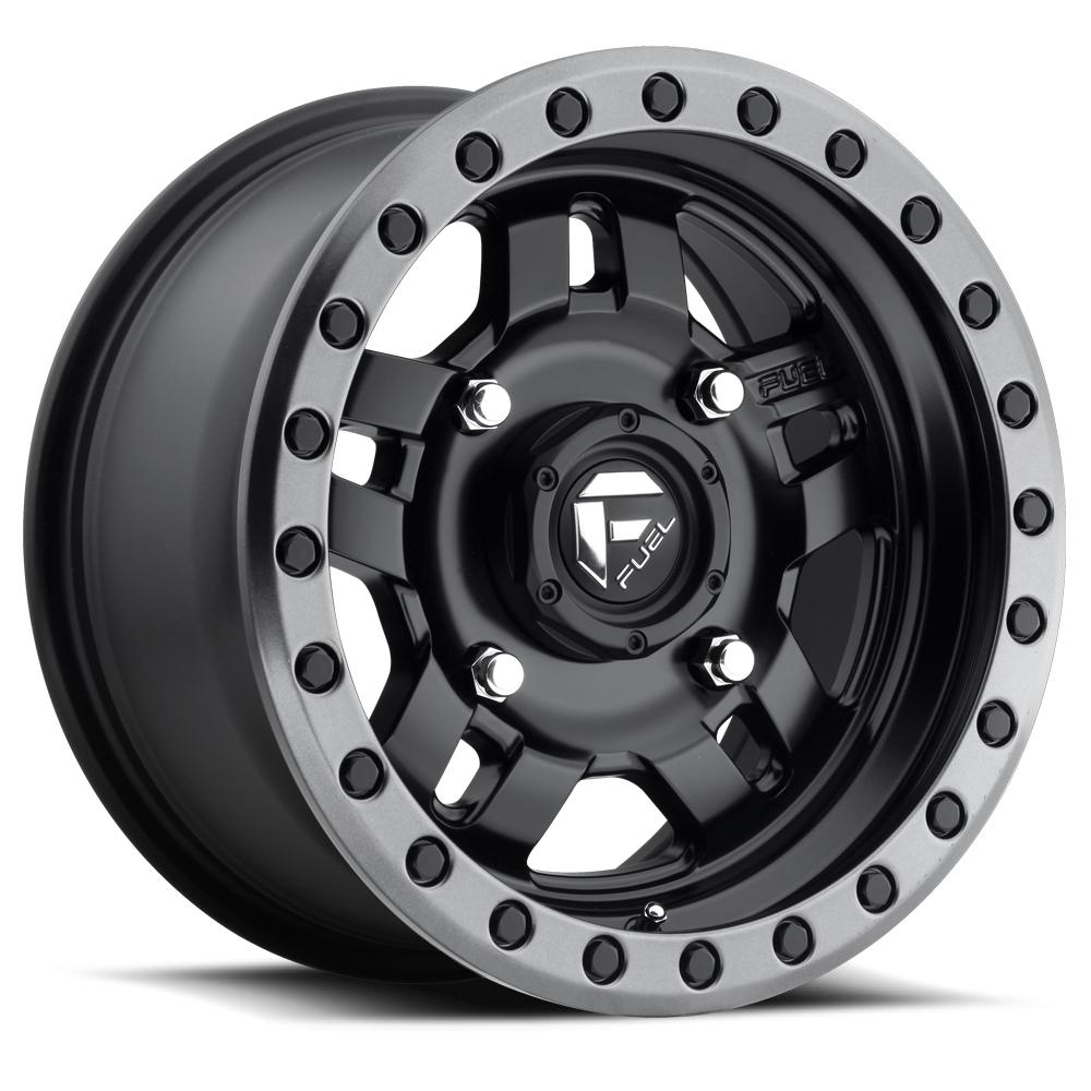 Image of Fuel Wheels Anza 15 X7 4-136.00 5+2 BKMTGL
