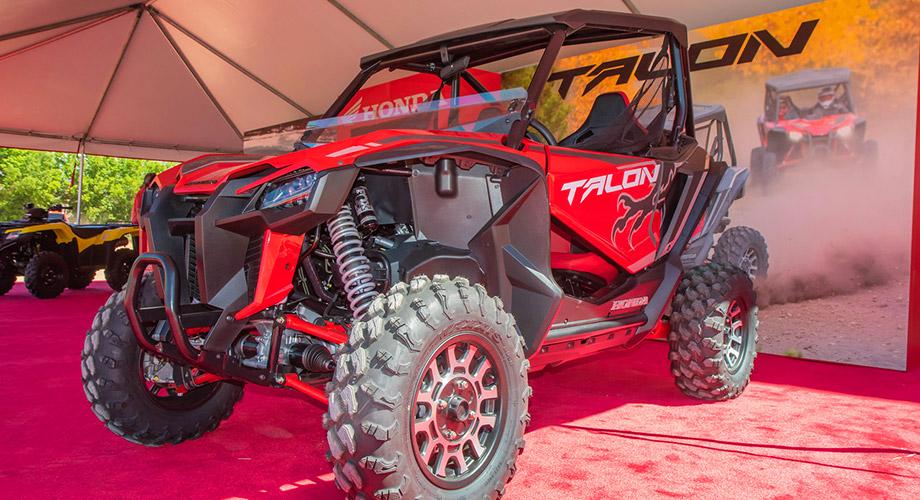 Honda Talon on display