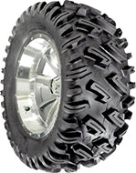 Image of Greenball Tire Dirt Commander AT25 /10.00D12 50 DP BSW