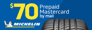 Exclusive $70 Michelin Rebate