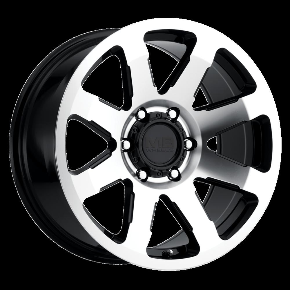 All Terrain Tire >> MB Wheels Legacy Wheels | Multi-Spoke Machined Truck Wheels | Discount Tire