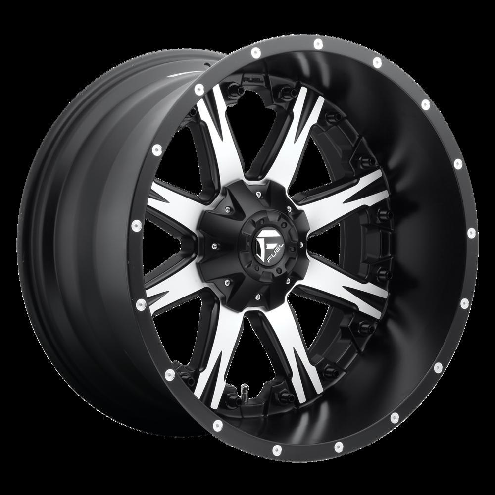 Image of Fuel Wheels Nutz 20 X9 5-139.70/150.00 20 BKMTMS
