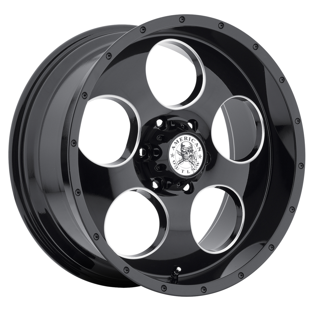 Image of American Outlaw Grit 20 X9 6-139.70 10 BKGLBM