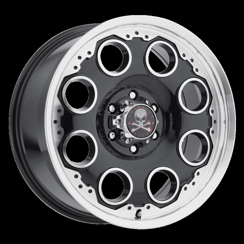 American Outlaw Patrol Wheels >> American Outlaw Patrol Wheels | Multi-Spoke Painted Truck Wheels | Discount Tire