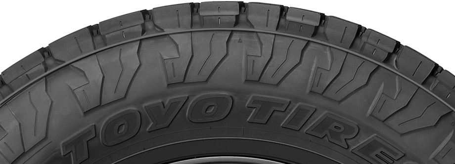 toyo open country sidewall view
