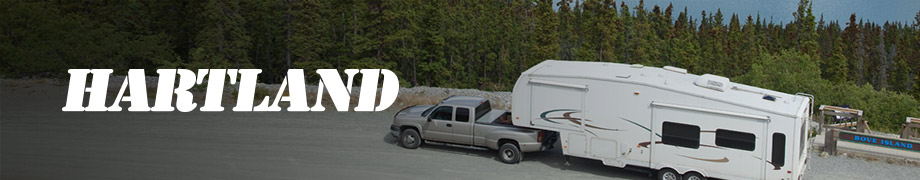 Hartland trailer tires on an RV