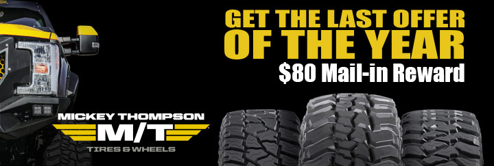 Mickey Thompson Rebate