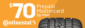 $70 Continental Tire Rebate