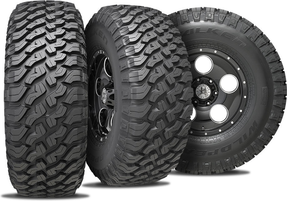 falken wildpeak mt three tire view
