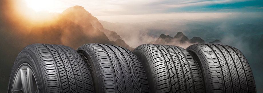 four all-season tires