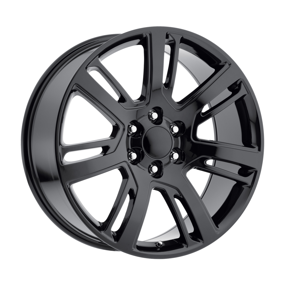 Image of Wheel Replicas Escalade Platinum 22 X9 6-139.70 31 BKGLXX