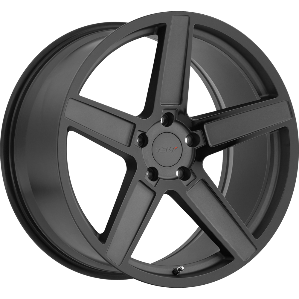 Image of TSW Ascent 18 X8.5 5-112.00 43 BKMTBA