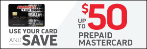 Up to $50 America's Tire Credit Card Rebate