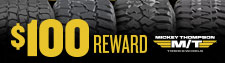 $100 Mickey Thompson Tire Rebate