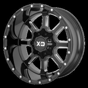 Xd Series Xd838 Mammoth Wheels Painted Multi Spoke Truck Wheels
