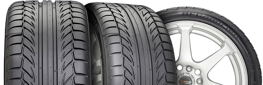 three tire view of the bfgoodrich g-force sport comp 2