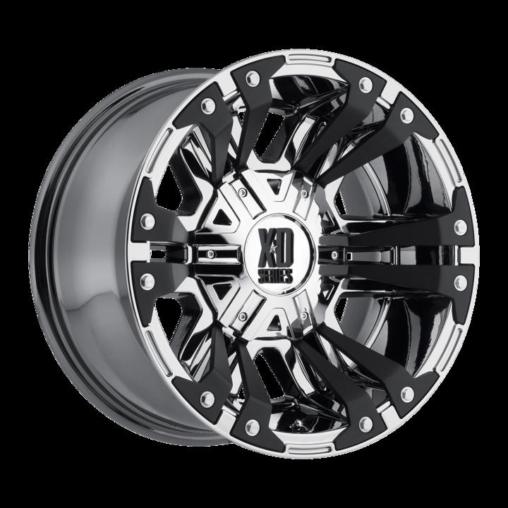 Xd Series Xd822 Monster 2 Wheels Chrome Split Spoke Multi Spoke Truck Rims Wheels Discount Tire No Longer Available