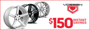Vossen Instant Savings