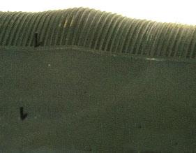 Sidewall bulge