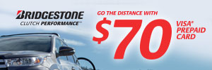 Bridgestone Rebate