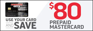Up to $80 America's Tire Credit Card Rebate
