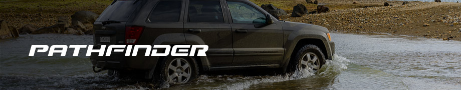 Pathfinder A/T tires on an SUV