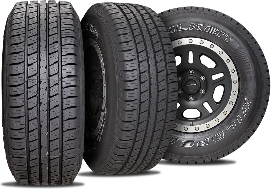 falken wildpeak ht three tire view