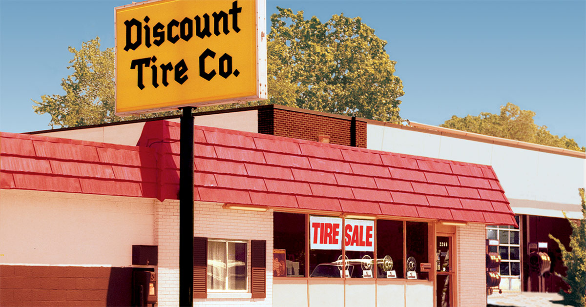 Our Story Company History Discount Tire