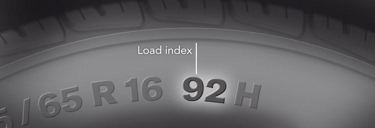 Tire Load Range Load Index Load Range Index Rating Chart