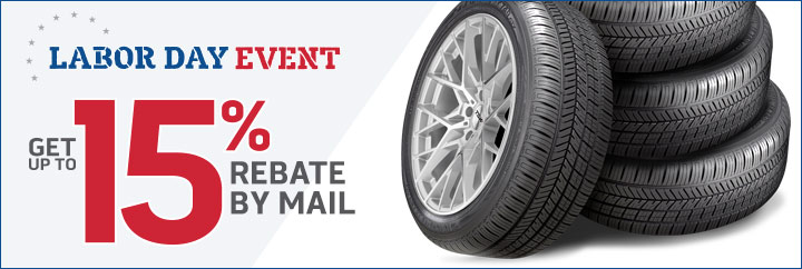 Labor Day Event for Tires and Wheels