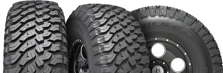 three tire view of falken wildpeak mt01