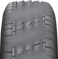 multiple tread wear symptoms