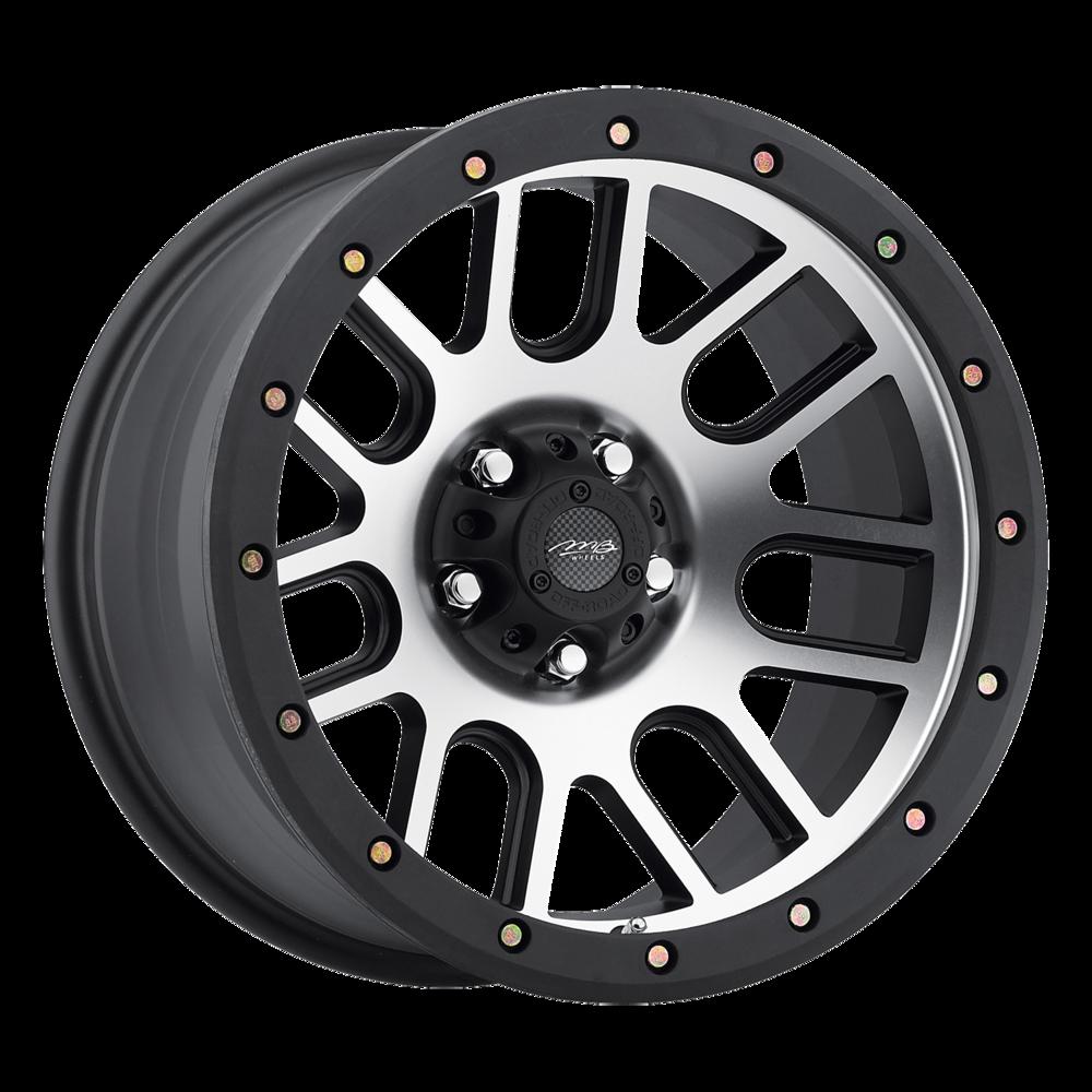 Image of MB Wheels 11 16 X8.5 5-127.00 -6 SLMCBA
