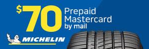 $70 Michelin Tire Rebate