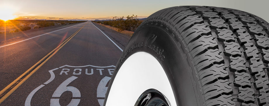 Coker American Classic tires for classic cars